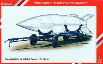 Vidalwagen Street V-2 Transporter Special armour · SH SA72009 ·  Special Hobby · 1:72