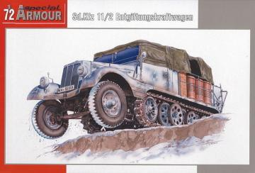 Sd.Kfz. 11/2 Entgiftungskraftwagen · SH SA72010 ·  Special Hobby · 1:72