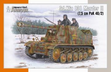 Sd.Kfz 131 Marder II (7,5 cm PaK 40/2) · SH SA72020 ·  Special Hobby · 1:72