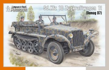 Sd.Kfz 10 Zugkraftwagen 1t (Demag D7) · SH SA72021 ·  Special Hobby · 1:72
