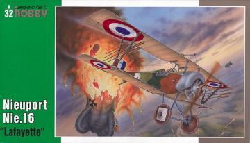 Nieuport Nie 16 Lafayette · SH SH32030 ·  Special Hobby · 1:32
