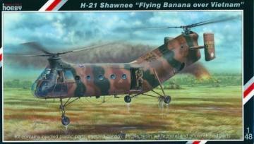 H-21 Shawnee Flying Banana over Vietnam · SH SH48062 ·  Special Hobby · 1:48