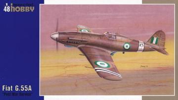 Fiat G.55A Post War Service · SH SH48087 ·  Special Hobby · 1:48