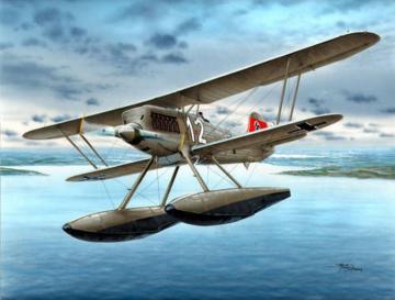Heinkel He 51 B-2 Float Fighter · SH SH48089 ·  Special Hobby · 1:48