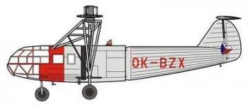 VR-1 Czechoslovakian FA-223 Drache · SH SH48095 ·  Special Hobby · 1:48