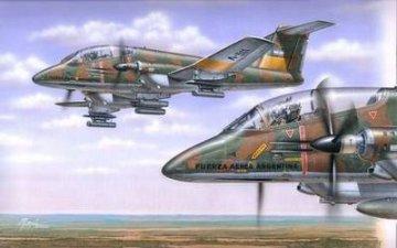 F.M.A. 58A Pucara · SH SH72047 ·  Special Hobby · 1:72