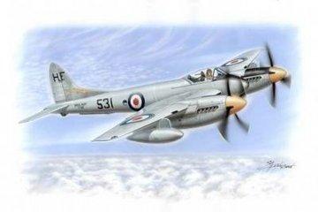 De Havilland DH 103 Sea Hornet F. Mk. 20/PR. Mk. 22 · SH SH72057 ·  Special Hobby · 1:72