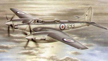 Airco DH 103 Sea Hornet NF. Mk. 21 · SH SH72059 ·  Special Hobby · 1:72