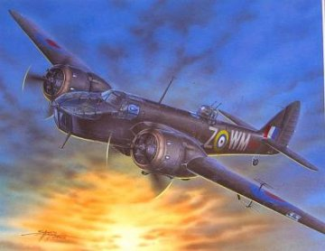 Bristol Blenheim F. Mk.IVF Fighter Version · SH SH72063 ·  Special Hobby · 1:72
