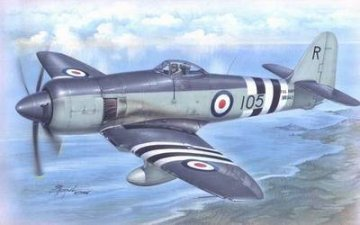 Hawker Sea Fury FB. Mk. 11 Fighter Bomber Version · SH SH72073 ·  Special Hobby · 1:72
