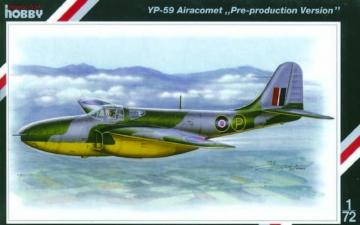 Bell YP-59 Airacomet Pre-production Version · SH SH72084 ·  Special Hobby · 1:72