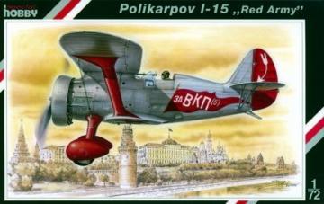 Polikarpov I-15 Red Army · SH SH72085 ·  Special Hobby · 1:72