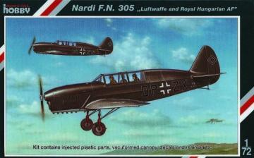 Nadri F.N.305 Luftwaffe adn Royal Hungarian AF · SH SH72088 ·  Special Hobby · 1:72