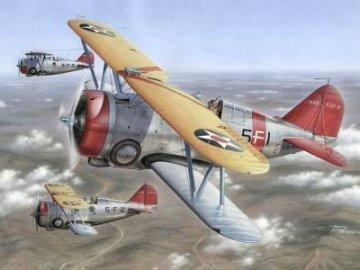 F3F-3 Last US Navy Biplane Fighter · SH SH72109 ·  Special Hobby · 1:72