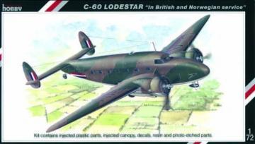 C-60 Lodestar in British and Norwegian Service · SH SH72112 ·  Special Hobby · 1:72