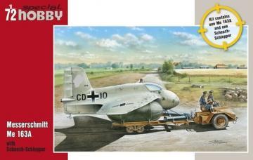 Messerschmitt Me 163A mit Scheuch-Schlepper · SH SH72183 ·  Special Hobby · 1:72