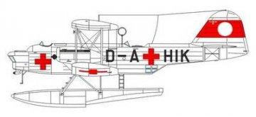 Heinkel He 59 C-2 Red Cross · SH SH72186 ·  Special Hobby · 1:72