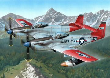 F-82H TwinMustang Alas. All Weather F. · SH SH72203 ·  Special Hobby · 1:72