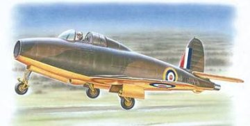 Gloster E.28/39 Pioneer (Squirt) First British Jet · SH SPH48017 ·  Special Hobby · 1:48