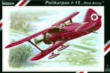 Polikarpov I-15 ´´Red Army´´ · SH SPH48023 ·  Special Hobby · 1:48