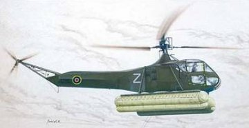 Sikorsky R-4/Hoverfly Mk.I mit Schwimmern · SH SPH48030 ·  Special Hobby · 1:48