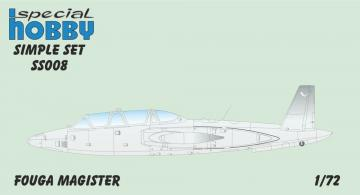 Fouga Magister - Simple Set · SH SS008 ·  Special Hobby · 1:72