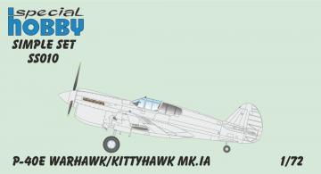 P-40E/Kittyhawk MK.IA - Simple Set · SH SS010 ·  Special Hobby · 1:72
