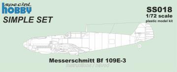 Messerschmitt Bf 109E-3 - Simple Set · SH SS018 ·  Special Hobby · 1:72