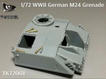 WWII German M24 Grenade · TMO TK72001 ·  T-Model · 1:72