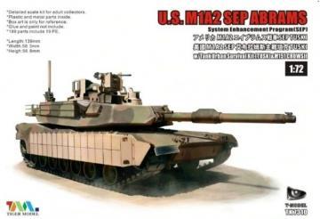 U.S. M1A2 SEP Abrams · TMO TK7310 ·  T-Model · 1:72