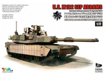 U.S. M1A2 SEP Abrams - System Enhancement Program (SEP) · TMO TK7310I ·  T-Model · 1:72