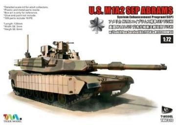 U.S. M1A2 SEP Abrams - System Enhancement Program (SEP) · TMO TK7310S ·  T-Model · 1:72