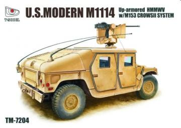 U.S.Modern M1114 - Up-armored HMMWV w/M153 CROWSII System · TMO TM7204 ·  T-Model · 1:72