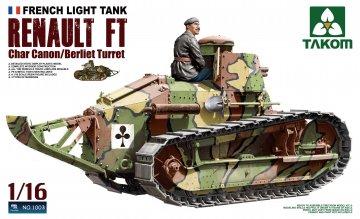 French Heavy Tank RENAULT FT char Canon/ · TAK 1003 ·  Takom · 1:16