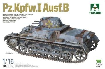 Pz.Kpfw.I Ausf.B · TAK 1010 ·  Takom · 1:16