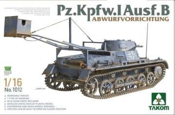 Pz.Kpfw.I Ausf.B - Abwurfvorrichtung · TAK 1012 ·  Takom · 1:16