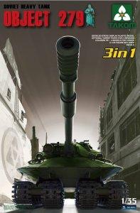 Soviet Heavy Tank Object 279  3in1 · TAK 2001 ·  Takom · 1:35
