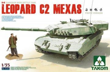 Canadian MBT Leopard C2  MEXAS · TAK 2003 ·  Takom · 1:35