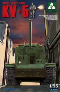 Soviet Super Heavy tank KV-5 · TAK 2006 ·  Takom · 1:35