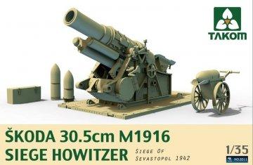 Skoda 30.5cm M1916 Siege Howitzer · TAK 2011 ·  Takom · 1:35