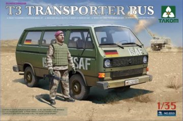 T3 Transporter Bus · TAK 2013 ·  Takom · 1:35