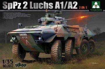 Bundeswehr SpPz 2 Luchs A1/A2 2 in 1 · TAK 2017 ·  Takom · 1:35