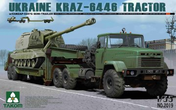 UKRAINE KRAZ-6446 TRACTOR · TAK 2019 ·  Takom · 1:35