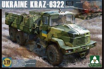 Ukraine KrAz-6322 Heavy Truck (late type) · TAK 2022 ·  Takom · 1:35