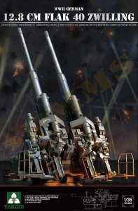 12,8 cm Flak 40 Zwilling · TAK 2023 ·  Takom · 1:35