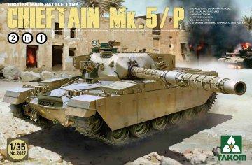 British Main Battle Tank ChieftainMk.5/P · TAK 2027 ·  Takom · 1:35