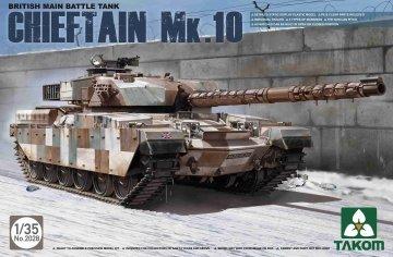 British Main Battle Tank Chieftain Mk.10 · TAK 2028 ·  Takom · 1:35
