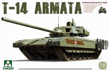 Russian Main Battle Tank T-14 Armata · TAK 2029 ·  Takom · 1:35