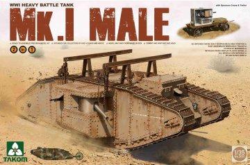 WWI Heavy Battle Tank Mk.I male 2in1 · TAK 2031 ·  Takom · 1:35