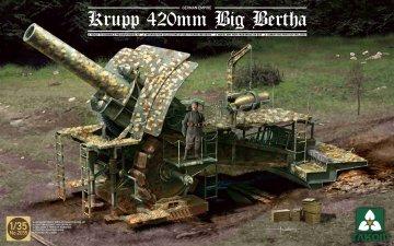 German Empire 420mm Big Bertha · TAK 2035 ·  Takom · 1:35